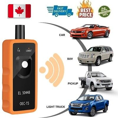TPMS Relearn Tool for GM Tire Pressure Monitor Sensor Programming Activation