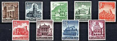 GERMANY -1940 WINTER RELIEF FUND - FULL SET - MINT NEVER HINGED** st