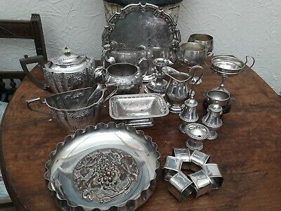 Antique/vintage Joblot of Silver Plated Items