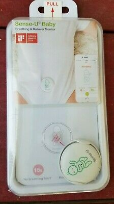 Sense-U Baby Breathing & Rollover Movement Monitor Temperature Detector Gifts
