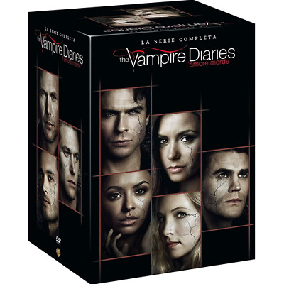 THE VAMPIRE DIARIES - Stagioni 1-8 (38 Dvd)