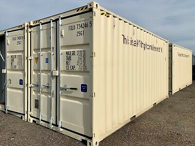 20ft New High Cube Double Door Tunnel Shipping Container