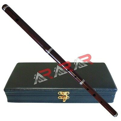 "Irish Professional Tunable D Flute with Hard Case 23"" Length 3 Pcs New Brand AAR"