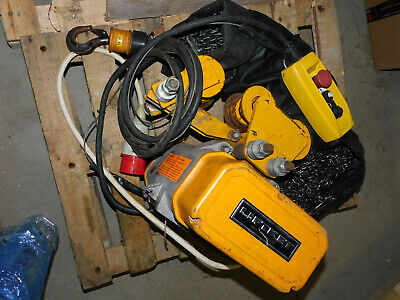 90m chain 250kg electric chain hoist overhead rigging crane winch