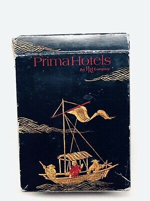 1998 Prima Hotels Playing Cards