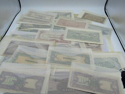 26ct LOT OF WWII JAPANESE OCCUPATION CURRENCY BURMA PHILIPPINES MALAYA ARGENTINA