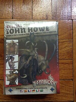 Zombicide Black Plague Special Guest John Howe; Factory Sealed