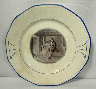 Vintage Sterling China (USA) Courtship of Miles Standish Dinner Plate