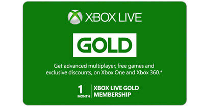 Xbox Live Gold 1 Month [INSTANT DELIVERY 24/7]