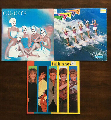 The Go-Go's Vintage Vinyl Lot (3 LPs) 80's New Wave Pop Rock Records