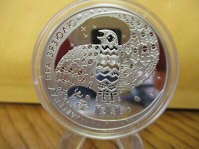 2008 Belarus Legend Of The Cuckoo Silver Coin