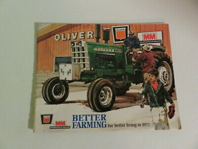 Minneapolis Moline Oliver Better Farming 1972 Buyer's Guide-Vintage Tractors-Wow