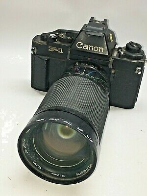 Canon A-1 35mm SLR Film Camera with 50mm Lens f 1/4 SSC
