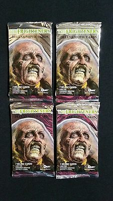 1996 Dart The Frighteners Trading Card Pack 4 Pack Lot