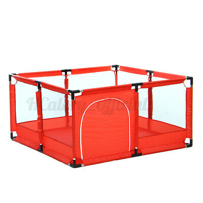 50''x26'' Baby Playpen Kids Safety Home Pen Fence Play Center Yard Indoor US K