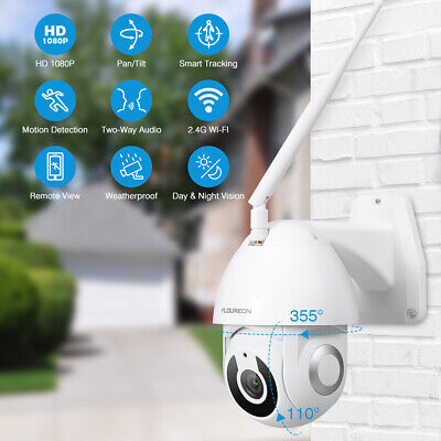 FLOUREON YI IOT Camera HD 1080P WiFi IP Security Camera Pan/Tilt IR Night Vision