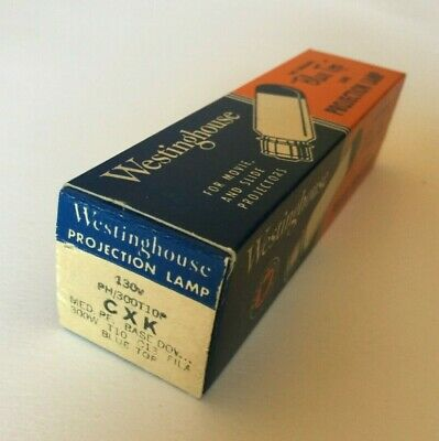 Westinghouse Blue Top Projection Lamp Bulb CXK - 300W - NOS! FREE SHIPPING!