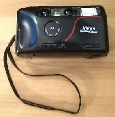 Nikon SmileTaker 35mm film camera point-and-shoot