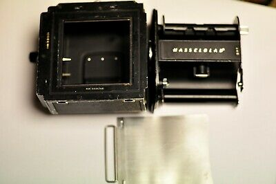 Hasselblad black A12 film back with matching insert and dark slide #2
