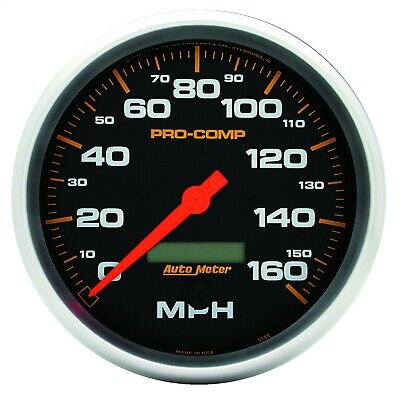 "AutoMeter 5189 Pro-Comp Electric In-Dash Speedometer 5"" 160 MPH"