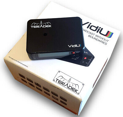 Taradek VidiU H.264 Streaming Encoder - Works Perfect - Cosmetic Condition 9/10