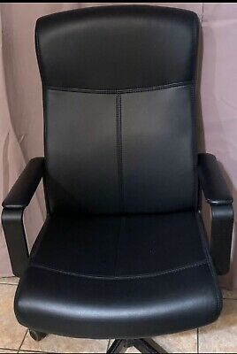SmugChair Leather Mid Back Office Chair (with secret pocket)
