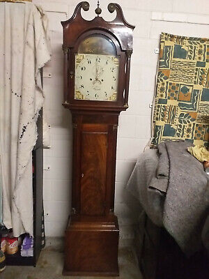 Antique Long Case  Grandfather Clock (Working)
