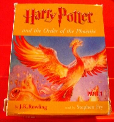 Harry Potter And The Order Of The Phoenix PART 1 11-Tape UNAB Audio Stephen Fry