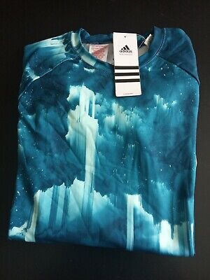 Girls Adidas Climawarm Long Sleeve Top,Bnwt,Size 11/12yrs with free p+p.from uk