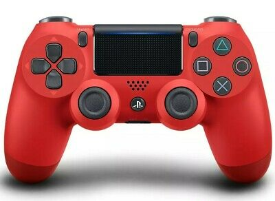 Official Sony Playstation 4 PS4 Dualshock 4 V2 Magma Red Controller Gaming Pad