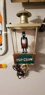 Old Crow Advertising Lighted Display