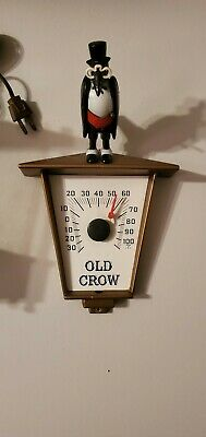 Old Crow Thermometer