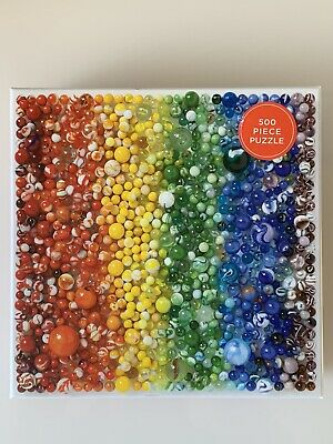Galison Marbles Jigsaw Puzzle 500 Piece