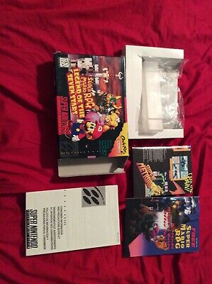 Mario Rpg Box And Inserts Only No Game Snes Super Nintendo