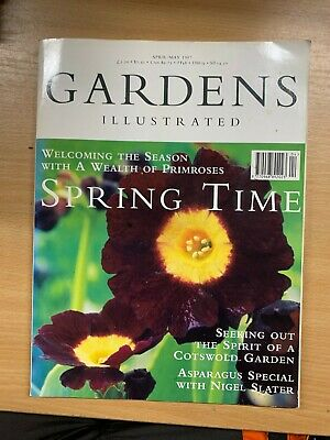 """""""Gardens Illustrated"""" Magazine (Apr/May 1997) - Spring Time / Asparagus Special"""
