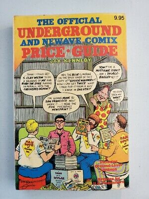 The Official Underground And Newave Comix Price Guide ~ First Ed ~ 1982 Harmony