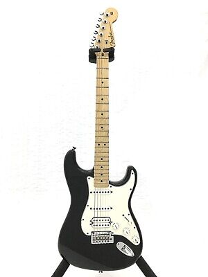 Fender Am Std St Ssh / Electric Guitar Strato Type Black Synchro