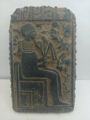 RARE ANCIENT EGYPTIAN ANTIQUE Imhotep Scientist Stella 1765-1690 BC