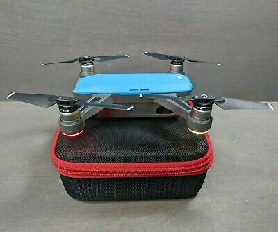 DJI Spark Quadcopter (Blue) W/ 2-Axis Stabilized Gimbal Camera - Nice!