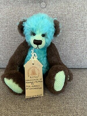 Gorgeous Mohair And Alpaca One Of A Kind Bear Kitto