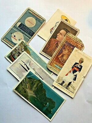 Set of Miscellaneous Vintage Tobacco Cards Collectible [06]