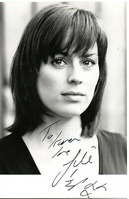 "Jill Halfpenny ""Eastenders Etc"" Signed 6x4 B/W Promo Autographed"