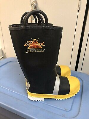 Thorogood Hellfire Structural Firefighter Rubber Turnout Boots