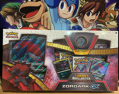 Pokémon Coffret zoroark GX 3.5 Collection légendes Brillantes neuf français