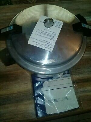 Vintage Mirro Pressure Cooker Canner Aluminum M-0512 12qt. ( Never Used )