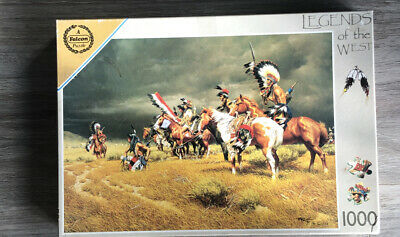 Legends Of The West Red Indian Jigsaw