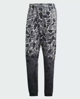 New adidas Originals Mens Dip-Dyed Camo Sweat pants Sz M joggers bottoms