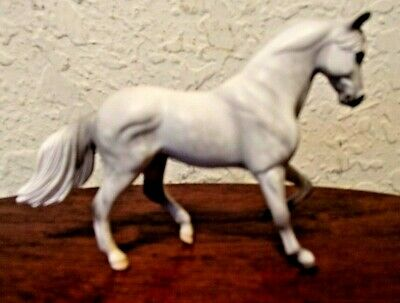 """1999 Rare Vintage Breyer Gray & White Spotted Horse Pony Ponies 2  5/8""""Tall"""