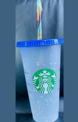 FREE SHIPPING! Starbucks Confetti Color Changing Cup   Summer 2020 BRAND NEW