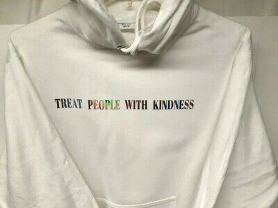 Harry Styles Treat People With Kindness White Hoodie Large *NEW*